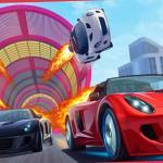 Mega Ramp Car Stunt Race