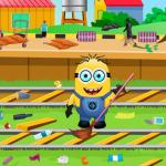 Minion At Railway Station