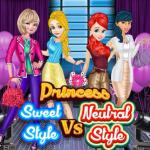 Princess Sweet Style Vs Neutral Style
