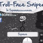 Trollface Sniper in Space