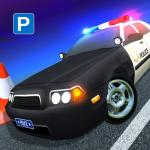 US Police Car Parking